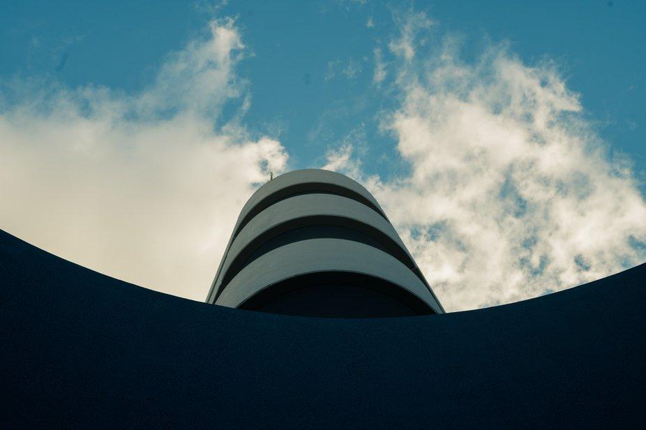 Architectual tower block