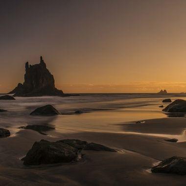 Benijo Beachat dawn