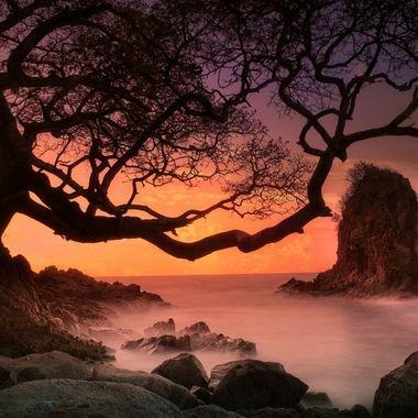 Playa aat sunset