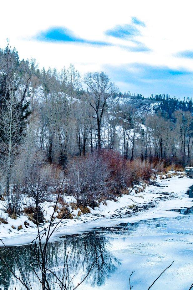 The Big Thompson River near Loveland Colorado