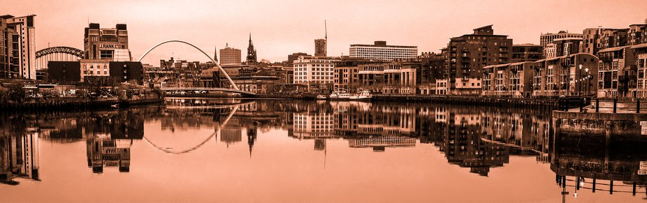 Newcastle upon Tyne is a university city on the River Tyne in northeast England. With its twin ci...