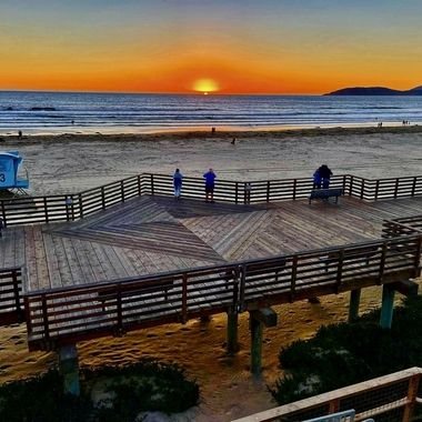 Sunset along California's central coast!