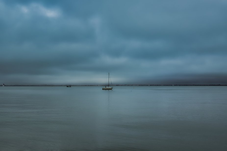 The Solent is a stretch of water off the south coast of England. It is the link between  England ...